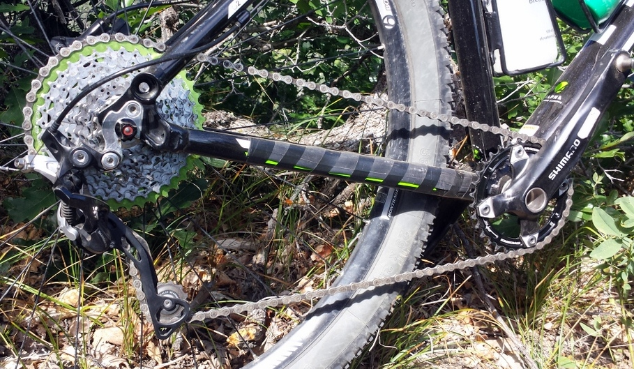Giving 1×10 a Try with the OneUp 40t Cog